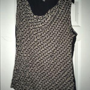 Cabi sleeveless cat heart blouse tank